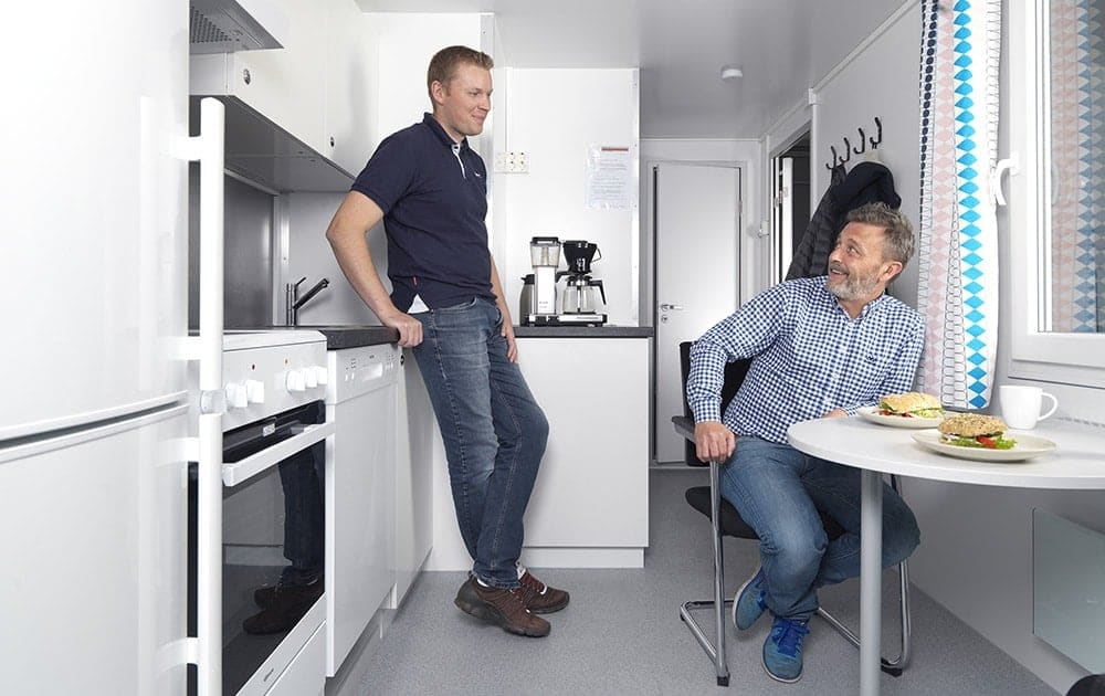 Arnpro spisebrakker boligbrakker entreprenørbrakker kontorbrakker toalettbrakker spesialbrakker